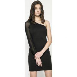 Only - Sukienka. Szare sukienki damskie Only, z elastanu, casualowe, z długim rękawem. W wyprzedaży za 69.90 zł.
