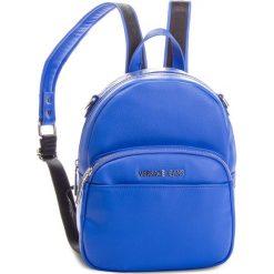 Plecak VERSACE JEANS - E1VSBBB7 70709 202. Niebieskie plecaki damskie Versace Jeans, z jeansu, eleganckie. Za 699.00 zł.