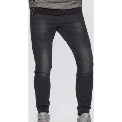 Jeansy SLIM JOGGER - Czarny. Jeansy męskie marki bonprix. W wyprzedaży za 119.99 zł.
