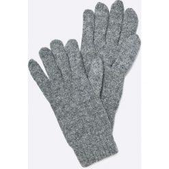 Gant - Rękawiczki. Szare rękawiczki męskie GANT, z bawełny. W wyprzedaży za 179.90 zł.