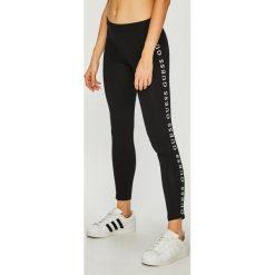 Guess Jeans - Legginsy. Szare legginsy damskie Guess Jeans, z nadrukiem, z bawełny. Za 169.90 zł.