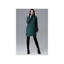 Płaszcz M623 Zielony. Zielone płaszcze damskie Figl, eleganckie. Za 299.00 zł.