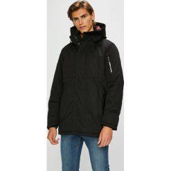 Pepe Jeans - Kurtka Fulham. Czarne kurtki męskie Pepe Jeans, z bawełny. W wyprzedaży za 699.90 zł.