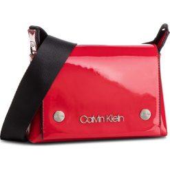 Torebka CALVIN KLEIN - Snap Sml Flap Crossbody P K60K604932 640. Czerwone listonoszki damskie Calvin Klein, ze skóry ekologicznej. Za 399.00 zł.