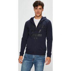 Guess Jeans - Bluza. Szare bluzy męskie Guess Jeans, z nadrukiem, z bawełny. Za 459.90 zł.