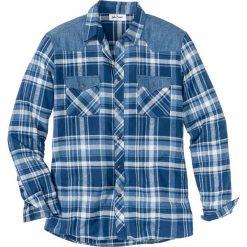 Koszula Regular Fit bonprix niebieski w kratę. Koszule męskie marki Giacomo Conti. Za 89.99 zł.