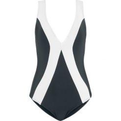 Kostium kąpielowy shape bonprix czarno-biały. Czarne kostiumy jednoczęściowe damskie bonprix. Za 109.99 zł.