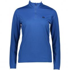 Koszulka funkcyjna w kolorze niebieskim. Niebieskie t-shirty damskie Völkl, ze stójką. W wyprzedaży za 130.95 zł.