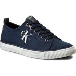 Tenisówki CALVIN KLEIN JEANS - Arnold S0369 Navy. Niebieskie trampki męskie Calvin Klein Jeans, z gumy. Za 379.90 zł.