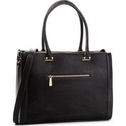Torebka JENNY FAIRY - RC12191 Black. Czarne torebki do ręki damskie Jenny Fairy, ze skóry ekologicznej. Za 149.99 zł.