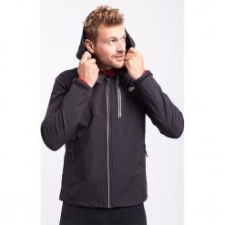 Kurtka treningowa męska KUMTR202z - czarny. Czarne kurtki męskie 4f, na jesień, z materiału. W wyprzedaży za 119.99 zł.