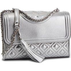 Torebka TORY BURCH - Fleming Metallic Small Convertible Shoulder Bag 52340 Silver 040. Szare torebki do ręki damskie Tory Burch, ze skóry. Za 2,039.00 zł.