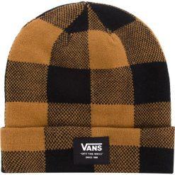 Czapka VANS - Mte Cuff Beanie VN0A3HJ9BXH Black/Rubber. Brązowe czapki i kapelusze damskie Vans. Za 99.00 zł.