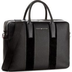Torba na laptopa TOMMY HILFIGER - Business Leather Computer Bag AM0AM02971  002. Torby na laptopa damskie Tommy Hilfiger. W wyprzedaży za 519.00 zł.