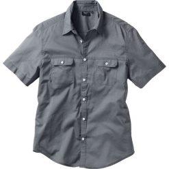 Koszula z krótkim rękawem bonprix dymny szary. Koszule męskie marki Giacomo Conti. Za 54.99 zł.