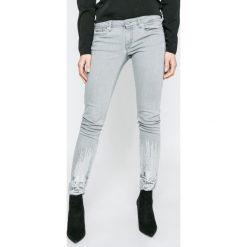 Pepe Jeans - Jeansy Lola Bling. Szare jeansy damskie Pepe Jeans. W wyprzedaży za 299.90 zł.