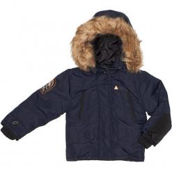 Kurtka zimowa w kolorze granatowym. Niebieskie kurtki i płaszcze dla chłopców Peak Mountain, na zimę. W wyprzedaży za 215.95 zł.