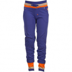 """Spodnie dresowe """"Your Protector"""" w kolorze niebieskim. Niebieskie spodnie sportowe dla chłopców marki 4FunkyFlavours Kids, z dresówki. W wyprzedaży za 102.95 zł."""