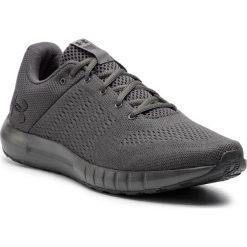 Buty UNDER ARMOUR - Ua Micro G Pursuit 3000011-110 Gry. Szare buty sportowe męskie Under Armour, z materiału. W wyprzedaży za 209.00 zł.
