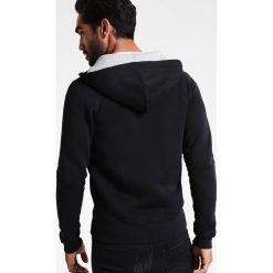 GANT ORIGINAL HOODIE Bluza rozpinana black. Kardigany męskie GANT, z bawełny. Za 509.00 zł.