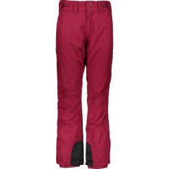 """Spodnie narciarskie """"Losh"""" w kolorze jagodowym. Czerwone spodnie materiałowe damskie Protest, w paski. W wyprzedaży za 237.95 zł."""
