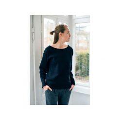 OVAL BLACK bluza oversize. Czarne bluzy damskie Gau great as you, z bawełny. Za 219.00 zł.