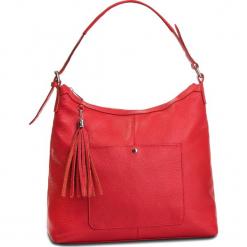 Torebka CREOLE - K10560 Czerwony. Czerwone torebki do ręki damskie Creole, ze skóry. Za 289.00 zł.