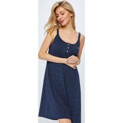 Lauren Ralph Lauren - Koszula nocna. Szare koszule nocne damskie Lauren Ralph Lauren, z bawełny. W wyprzedaży za 339.90 zł.