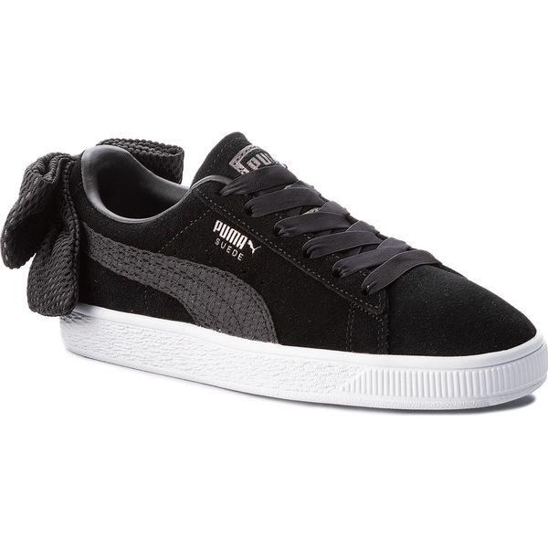 Sneakersy PUMA Suede Bow Uprising Wn's 367455 01 Puma BlackPuma White