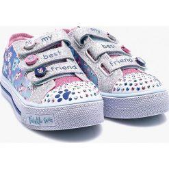 Skechers - Tenisówki dziecięce. Buty sportowe dziewczęce marki Pulp. W wyprzedaży za 199.90 zł.