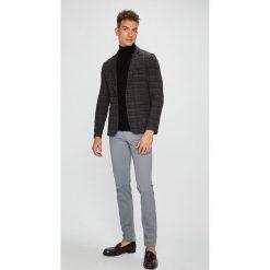 Trussardi Jeans - Spodnie. Szare eleganckie spodnie męskie TRUSSARDI JEANS, z bawełny. Za 369.90 zł.