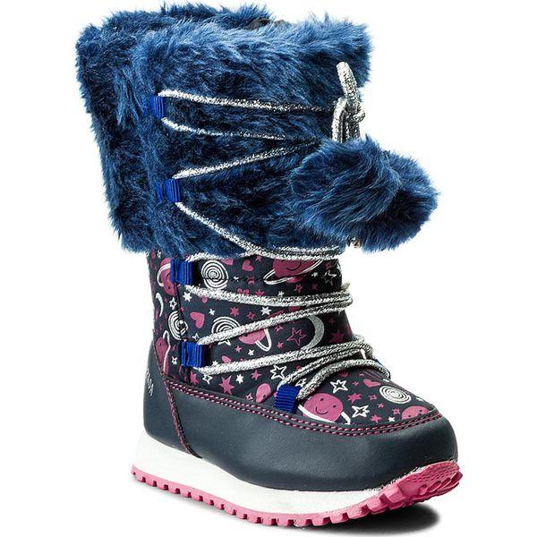 abf26fbc8db0b Śniegowce AGATHA RUIZ DE LA PRADA - 171985 A/Azul Marino - Buty zimowe  dziewczęce marki Agatha Ruiz de la Prada. W wyprzedaży za 199.00 zł.