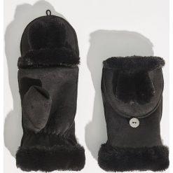 Rękawiczki z ociepleniem - Czarny. Czarne rękawiczki damskie Sinsay. Za 29.99 zł.