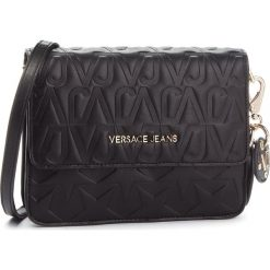 Torebka VERSACE JEANS - E1VSBBH1 70780 899. Czarne listonoszki damskie Versace Jeans, z jeansu. Za 749.00 zł.