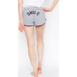 Etam - Szorty piżamowe Selby Smiley World. Szare piżamy damskie Etam. W wyprzedaży za 34.90 zł.