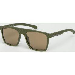 Calvin Klein - Okulary CKJ798S. Brązowe okulary przeciwsłoneczne męskie Calvin Klein, z materiału. Za 479.90 zł.