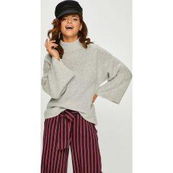 Answear - Sweter Watch Me. Szare swetry damskie ANSWEAR, z dzianiny. W wyprzedaży za 99.90 zł.