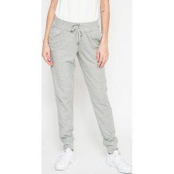 Lauren Ralph Lauren - Spodnie piżamowe. Szare piżamy damskie Lauren Ralph Lauren, z bawełny. W wyprzedaży za 199.90 zł.