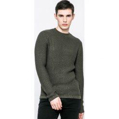 Only & Sons - Sweter. Szare swetry przez głowę męskie Only & Sons, z bawełny, z okrągłym kołnierzem. W wyprzedaży za 69.90 zł.