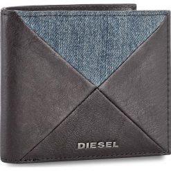 Duży Portfel Męski DIESEL - Neela S X05045 PS778 T8013. Czarne portfele męskie Diesel, z materiału. W wyprzedaży za 269.00 zł.