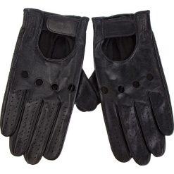 Rękawiczki Męskie WITTCHEN - 46-6L-381-1 Czarny. Czarne rękawiczki męskie Wittchen, ze skóry. W wyprzedaży za 169.00 zł.
