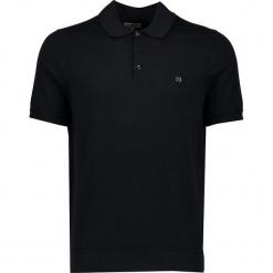 Koszulka polo w kolorze czarnym. Czarne koszulki polo męskie Ben Sherman, z haftami, z bawełny. W wyprzedaży za 130.95 zł.