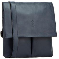 Torebka CREOLE - RBI384 Granat. Niebieskie torebki do ręki damskie Creole, ze skóry. Za 199.00 zł.