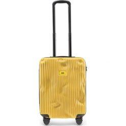 Walizka Stripe kabinowa Mustard Yellow. Żółte walizki męskie Crash Baggage. Za 1,049.00 zł.