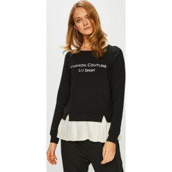 Liu Jo - Bluza. Czarne bluzy damskie Liu Jo, z nadrukiem, z bawełny. Za 579.90 zł.