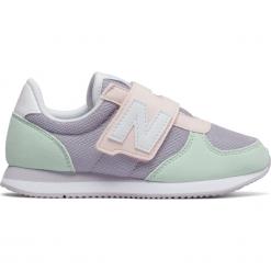 New Balance KV220P1Y. Szare buty sportowe dziewczęce New Balance, na lato, z materiału. W wyprzedaży za 129.99 zł.