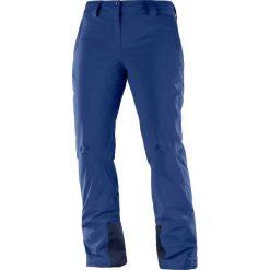 Salomon Spodnie Narciarskie Damskie Icemania Medieval Blue r.M/R (LC1005600). Spodnie snowboardowe damskie Salomon. Za 576.45 zł.