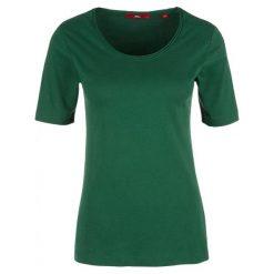 S.Oliver T-Shirt Damski 36 Zielony. Zielone t-shirty damskie S.Oliver, z bawełny. W wyprzedaży za 39.00 zł.