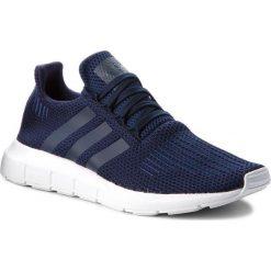 Buty adidas - Swift Run B37727 Conavy/Conavy/Ftwwht. Niebieskie buty sportowe męskie Adidas, z materiału. W wyprzedaży za 269.00 zł.