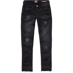 """Dżinsy """"Aubrey"""" - Skinny fit - w kolorze czarnym. Jeansy dla dziewczynek marki bonprix. W wyprzedaży za 99.95 zł."""